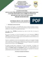 INFORME OFICINA DE GESTIÓN SOCIAL