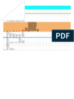 calendar for menu unit - sheet1