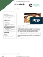 Cocina - Receta_ Pechugas de Pollo en Salsa de Cilantro