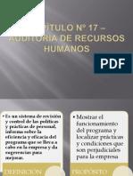 CAPÍTULO Nº 17 – AUDITORÍA DE RECURSOS HUMANOS