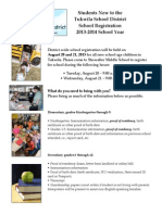 Tukwila School District registration