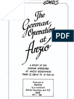 Study Paper German Operations at Anzio Part 1