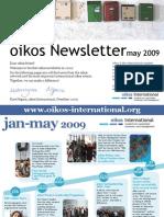 oikosNewsletter_May2009
