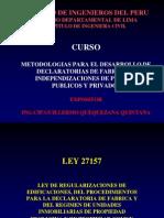 Diapositivas Exposicion Ley 27157 Total