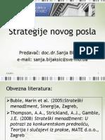 1.Strategije novog posla