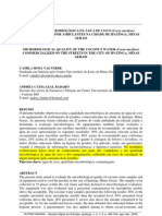 Artigo Qualidade Microbiologica Da Agua de Coco Mg