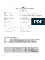 Timetable Dec 2013