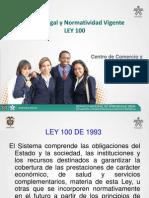 MARCO LEGAL Y NOMATIVIDAD VIGENTE LEY 100.ppt