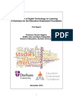 The Impact of Digital Technology on Learning