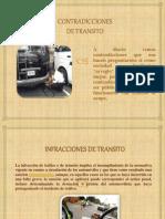 INFRACCIONES DE TRANSITO .pptx