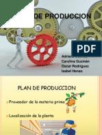 Presentacion Plan de Produccion