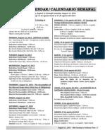 Spanish bulletin 08-11-2013