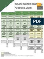 Mapa Curricular 2012 Cobaes