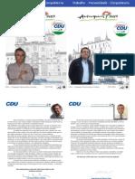 CDU Estremoz - Carta de Apresentação 1