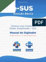 Manual Digitador - E-SUS- CDS