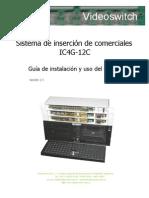 Manual Instalacion IC4G-12C V2.1a