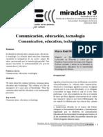 Comunicación, Educación y Tecnología - Marco Raúl Mejía