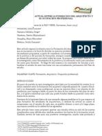 La Relacion Actual Entre La Formacion Del Arquitecto y Su Ocupacion Profesional