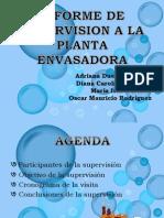 Presentación informe supervision