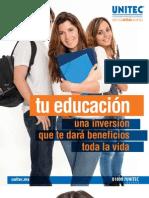 Tu Educación - Una Inversión que te Dará Beneficios