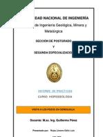 Hidrogeologia Cuenca Del Rio Lurin Peru