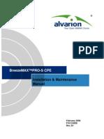 BreezeMAX PRO CPE Installation Manual_Rev.D1_080212