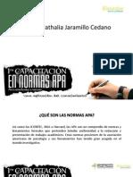 Presentación normas APA