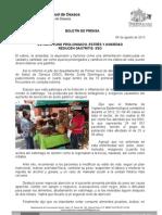 08/08/13 EVITAR AYUNO PROLONGADO, ESTRÉS Y ANSIEDAD REDUCEN GASTRITIS