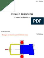 5 - Montagem de rols - Furo cilíndrico