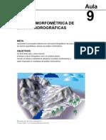 Geomorfologia Fluvial e Hidrografia Aula 9