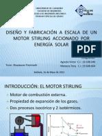 DISEÑO Y FABRICACIÓN A ESCALA DE UN MOTOR STIRLING ACCIONADO POR ENERGÍA SOLAR