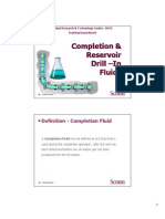 Completion_Reservoir Drill in Fluids