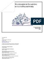 Virginia DOE Curriculum Framework--Secondary