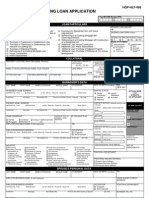 Housing Loan Application (HLA, HQP-HLF-068, V03)