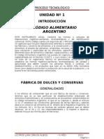 FÁBRICA DE DULCES Y CONSERVAS