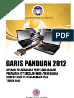 Garis PanduanPenyenggaraan Peralatan ICT Sekolah KPM 2012