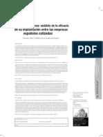 Códigos éticos-análisis de la eficacia