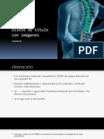 presentacion musculoesqueleticos