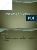 Aula 1 - Pessoas Naturais