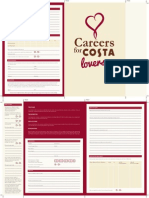 Costa Application Form