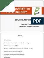 Carbon Footprint in Textile Industries