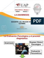 2. La Anamnesis.