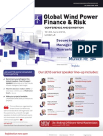 Global Wind Finance Brochure