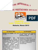 2. Nómina Laboral y Cálculo de Prestaciones Sociales