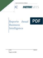 Reporte Anual de Business Intelligence