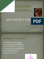 Analgesia Ob r1