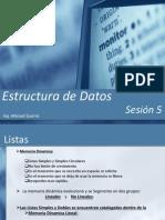 Estructura de Datos - Sesion 5