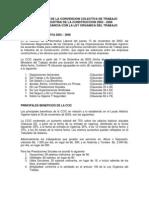 Aplicacion de La Convencion Colectiva Del Trabajo 2003-2006