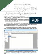 Izrada cirkularnog pisma za OpenOffice Writer