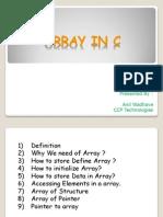 Array In C